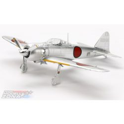 Tamiya - 1/72 MITSUBISHI A6M5 (ZEKE) Zero Fighter Silver Plated - makett