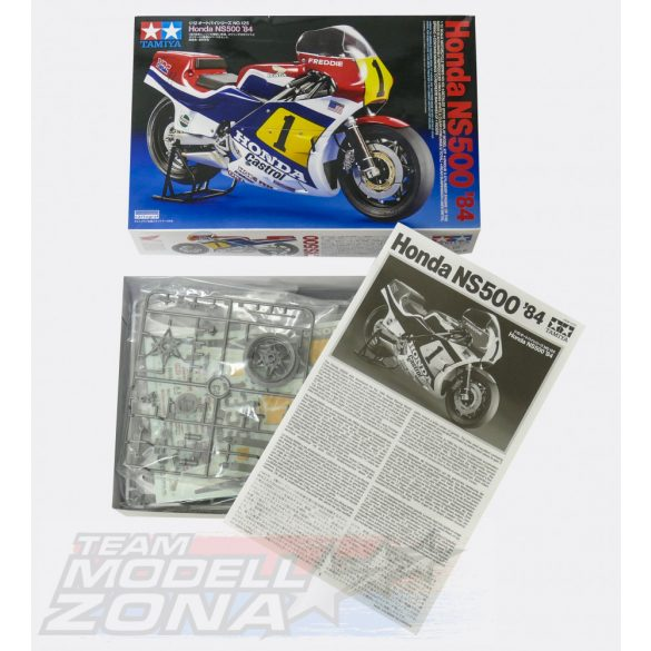 Tamiya Honda NS500 '84 - makett