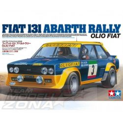 Tamiya - 1:20 Fiat 131 Abarth Rally Olio makett
