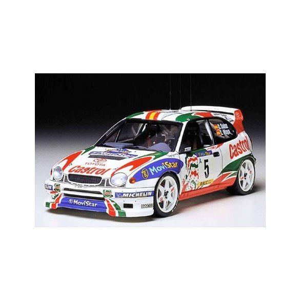 Tamiya Toyota Corolla WRC - makett