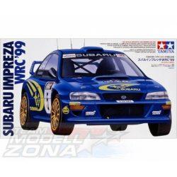 Tamiya - 1:24 Subaru Impreza WRC '99 - makett autó