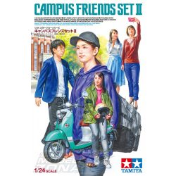 Tamiya - 1:24 Campus Friends Set II