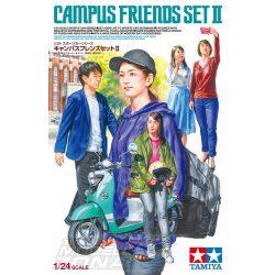 Tamiya - 1:24 Campus Friends Set II