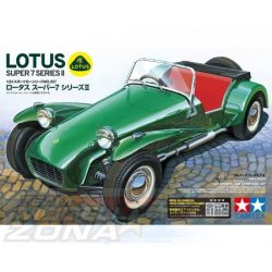 Tamiya - 1:24 Lotus Super 7 Serie II - makett