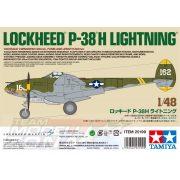 Tamiya - 1:48 US P-38H Lightning - makett