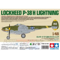 Tamiya - 1:48 US P-38H Lightning - makett