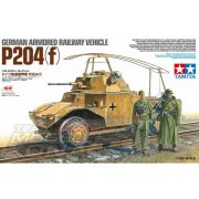 Tamiya - 1:35 TAMIYA GERMAN ARMORED RAILCAR P204(F) - makett figurákkal