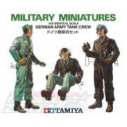 Tamiya - 1:35 Fig.-Set Dt. Panzerbesatzung - német páncélos legénység 3 figura