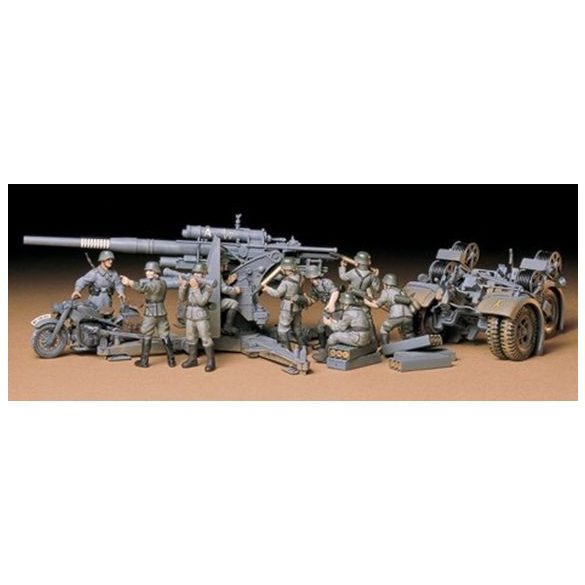 Tamiya German 88mm Gun Flak 36.37 - makett