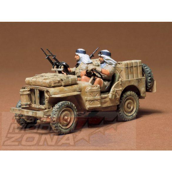 Tamiya British SAS Jeep - makett