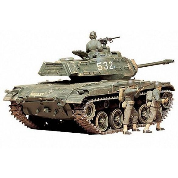 Tamiya - 1:35  U.S. M41 Walker Bulldog - makett