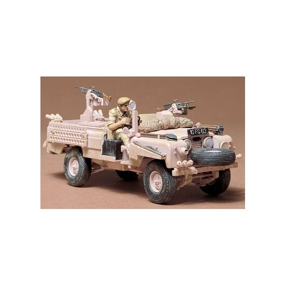 Tamiya British SAS Land Rover - makett