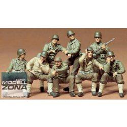 Tamiya - 1:35 US Combat Group - makett