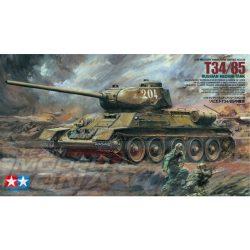 Tamiya - 1:35 Rus. T34/85 Mtl. Kampfpanzer - makett (*)