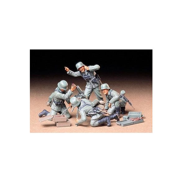 Tamiya German Infantry Mortar Team - makett