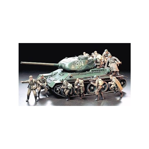 Tamiya Russian Army Assault Infantry - makett