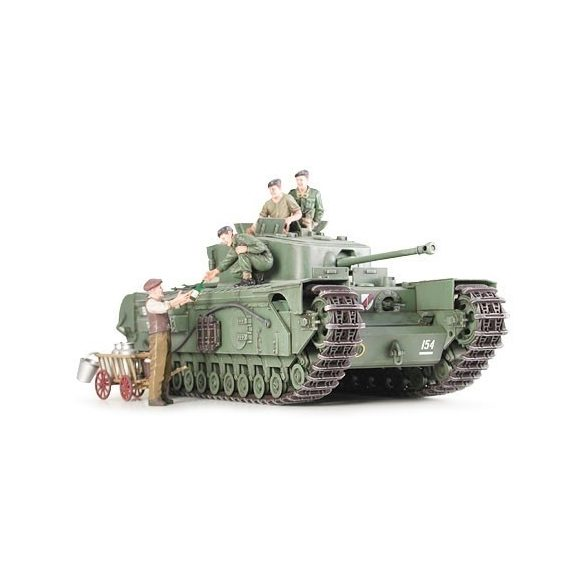 Tamiya British Churchill Mk.VII - makett