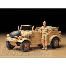 Tamiya German Kubelwagen Type 82 - Africa Corps - makett