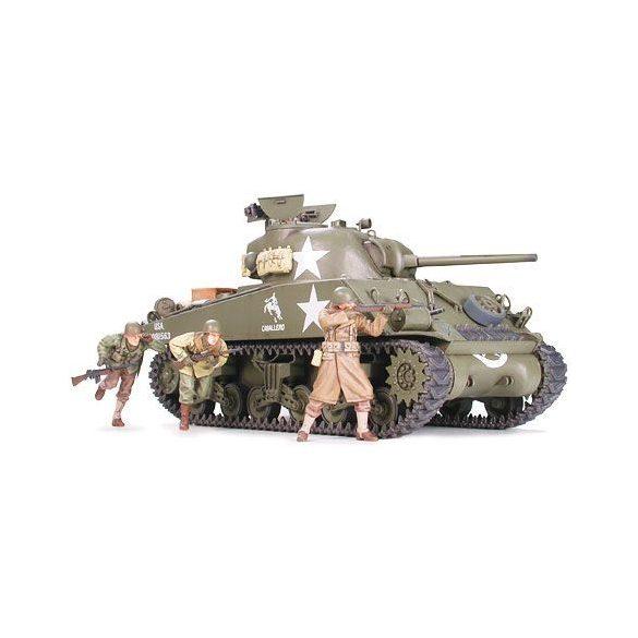 Tamiya U.S. M4A3 Sherman 75mm Gun - makett