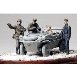 Tamiya German Panzer Div. Recon. Team - makett