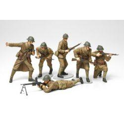 Tamiya French Infantry Set - makett