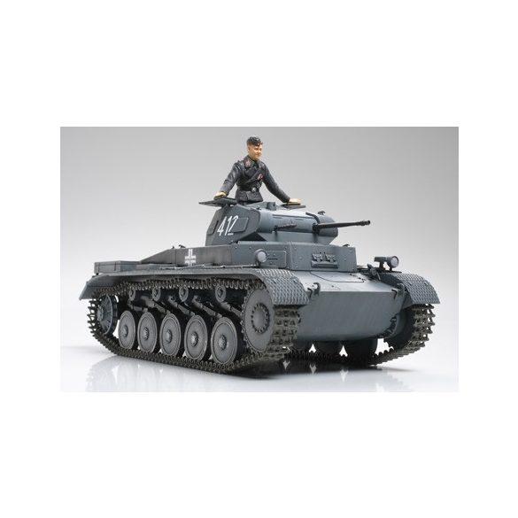 Tamiya Pz.kpfw.II Ausf.A/B/C - makett