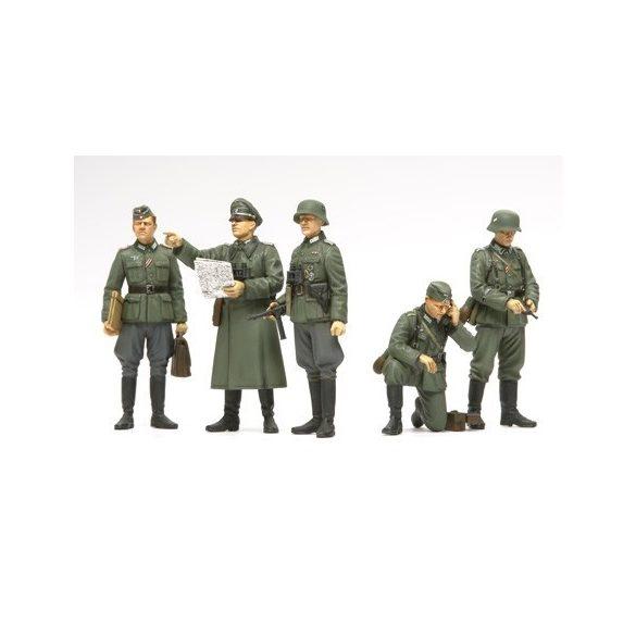 Tamiya German Field Commander Set - makett