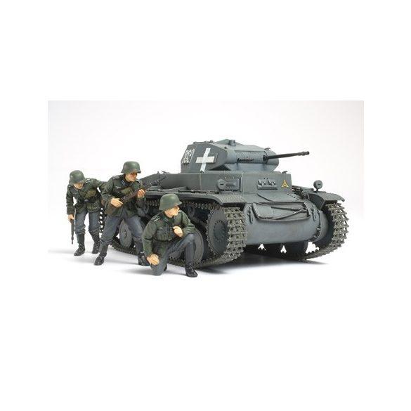 Tamiya Pz.kpfw II Ausf.C Polish - makett