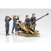 Tamiya FLAK37 Anti-Aircraft Gun Set - makett