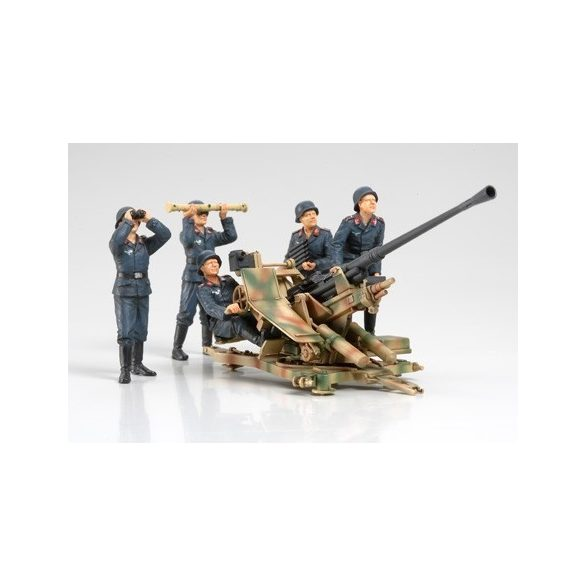 Tamiya FLAK37 Anti-Aircraft Gun Set - makett