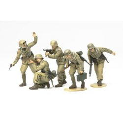 Tamiya German Africa Corps Infantry - makett