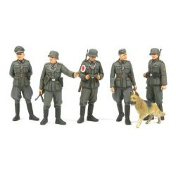 Tamiya German Field Military Police - makett