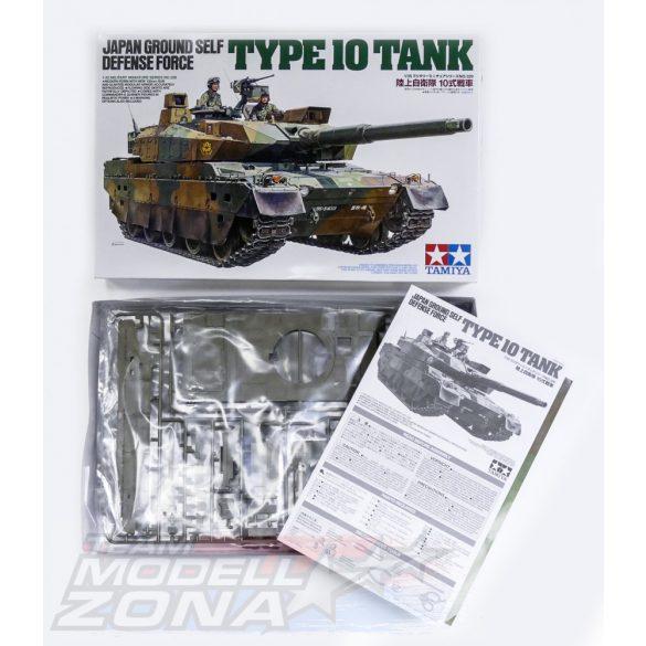 Tamiya - 1:35 JGSDF Type 10 Tank - makett