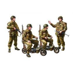 Tamiya British Paratroopers - Small Motorcycle - makett