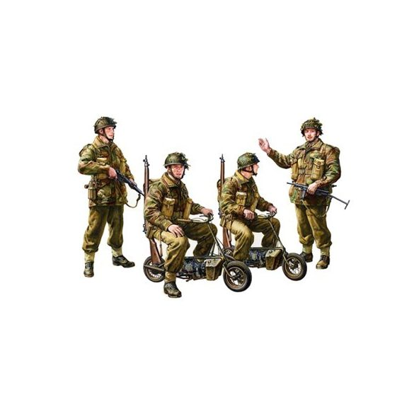 Tamiya British Paratroopers - Small Motorcycle - makett