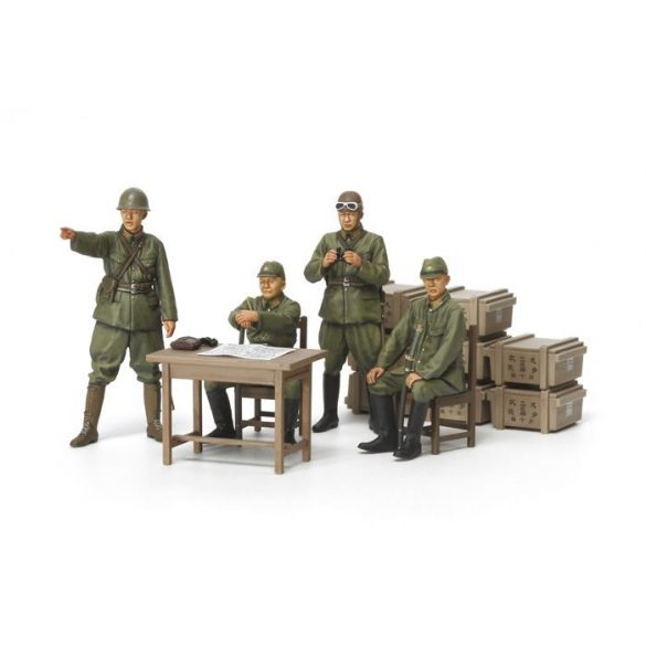 Tamiya IJA Officers - makett