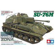 Tamiya - 1:35 Sov. SU-76M Panzerhaubitze - makett