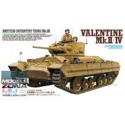 Tamiya - 1:35 Valentine Mk,II/IV - makett