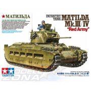 Tamiya - 1:35 Matilda MkIII/IV Vörös Hadsereg - makett