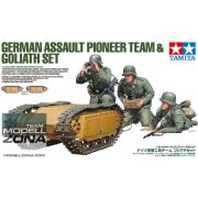 Tamiya 1:35 Dt. Pioniere & Goliath-Set (3+2) - makett