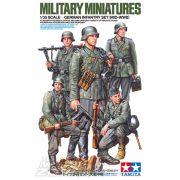 Tamiya - 1:35 Fig-Set Dt. Infanterie 1941/42 - német tüzérség - makett figurák
