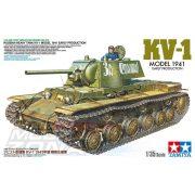 Tamiya - 1:35 KV-1 1941 orosz páncélos - makett