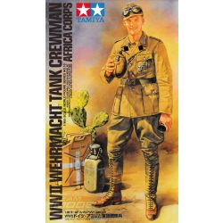 Tamiya - 1:16 német páncélos katona - makett figura