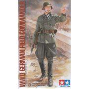 Tamiya - 1:16 német tábori parancsnok - figura
