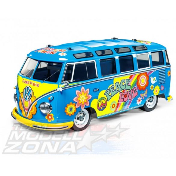 Tamiya - 1:10 RC VW Bus Type 2 T1 Flower Power