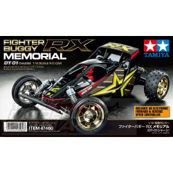 Tamiya - 1:10 RC Fighter Buggy RX Memorial DT-01