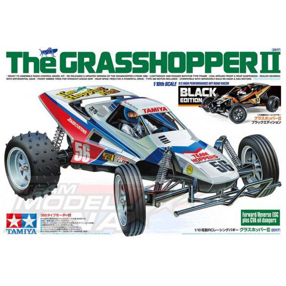 Tamiya - 1:10 RC The Grasshopper II Bl - limitált fekete kiadás