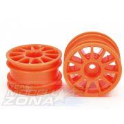 Tamiya - Mini felni szett 2db neon orange