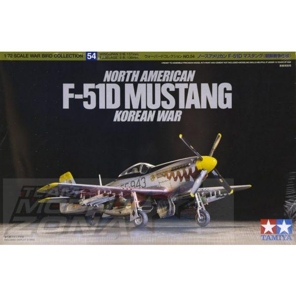 Tamiya F-51D Mustang North American - makett