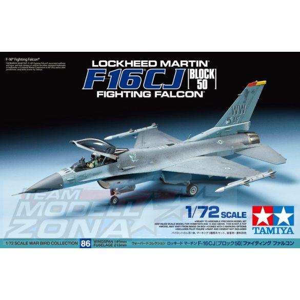 Tamiya F-16 CJ Fighting Falcon - makett